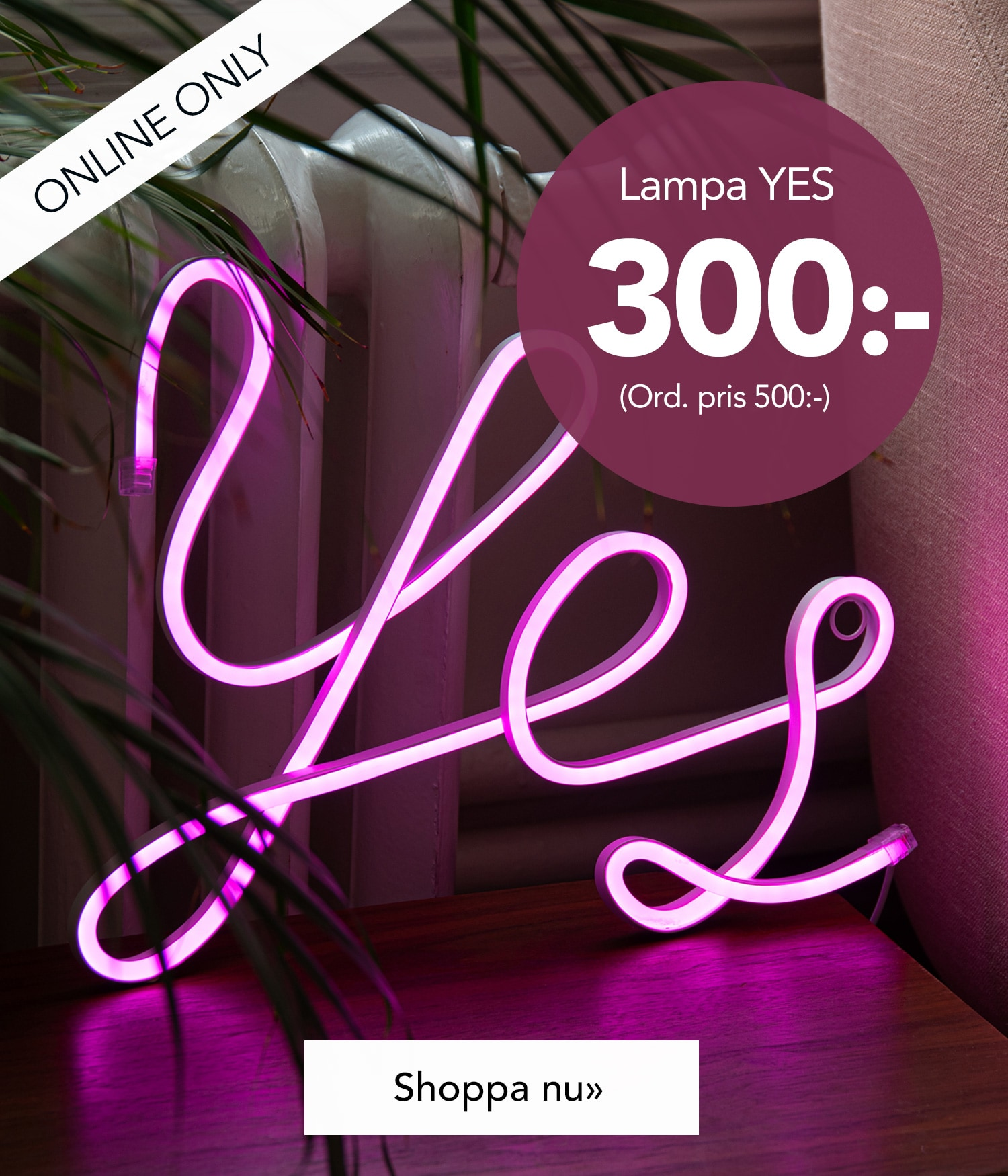 Lampa YES 300:-